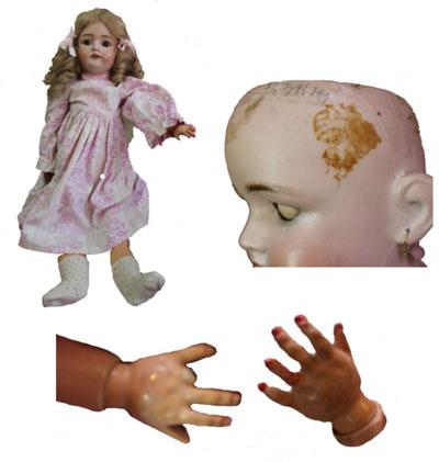 Verletzte Puppen